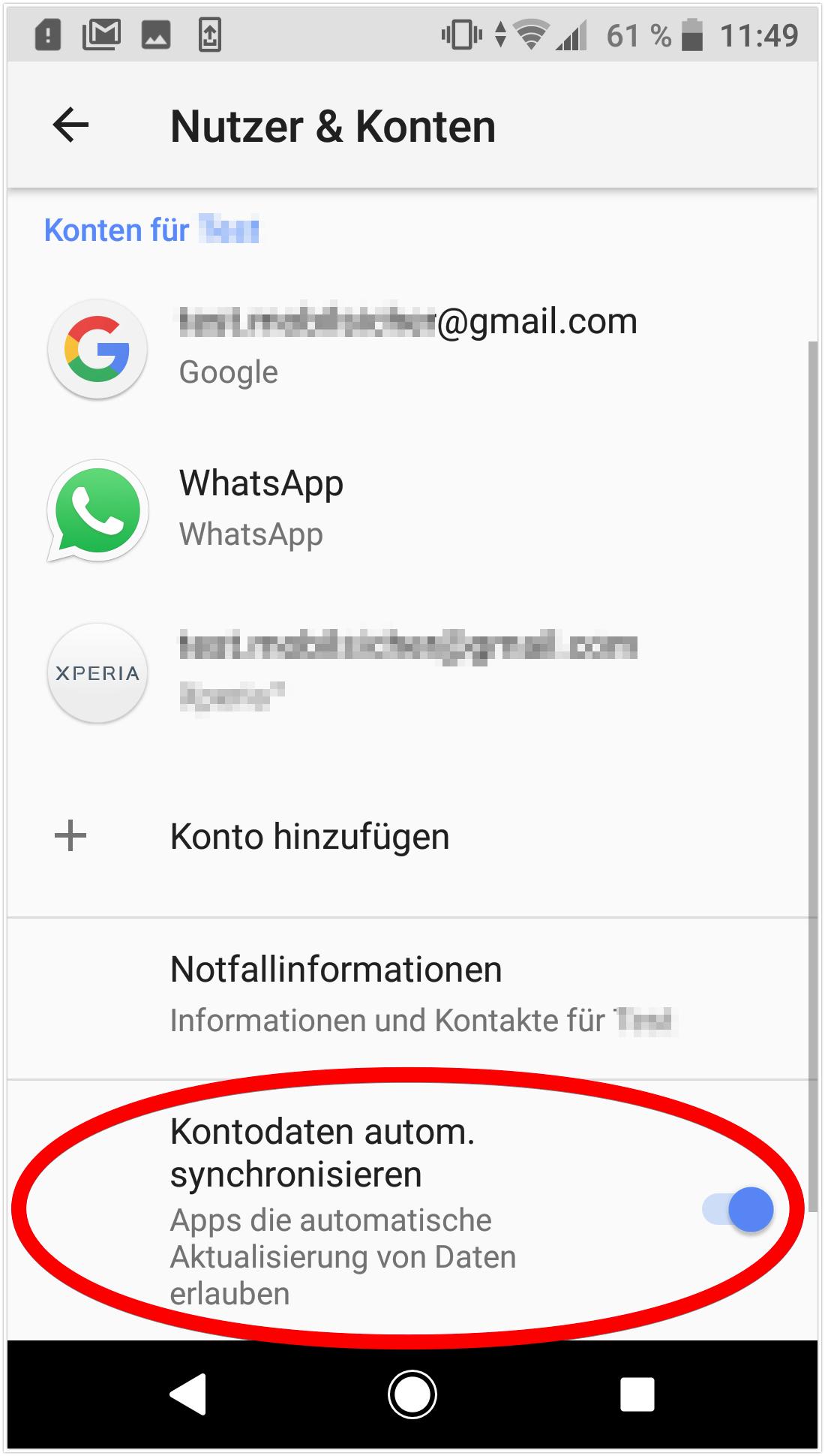 Nicht möglich android gmail anmeldung Gelöst: Anmeldung